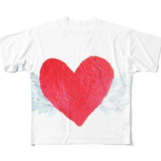 天使のハート Full graphic T-shirts