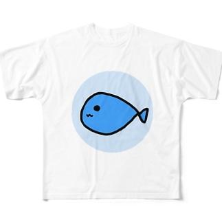 おさかな Full graphic T-shirts