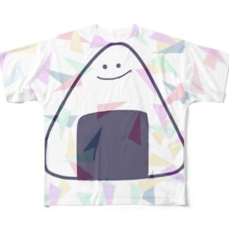 おにぎりんTシャツ Full graphic T-shirts