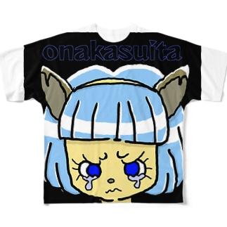 onakasuita Full graphic T-shirts
