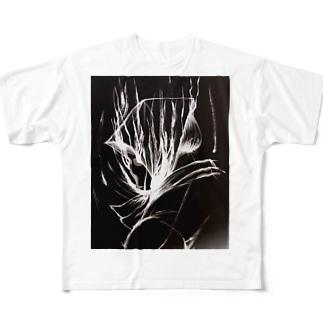のっぺらぼう Full graphic T-shirts