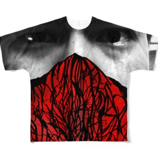 燃える柴 Full graphic T-shirts