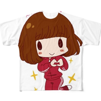 村長L Full graphic T-shirts