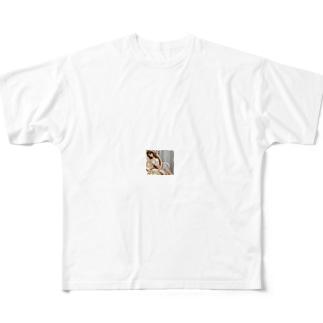不感症やEDを水溶性ケイ素水で改善する Full graphic T-shirts