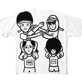 体育祭 Full graphic T-shirts