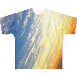 sunset Full graphic T-shirts