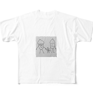 どんぐり一家 Full graphic T-shirts