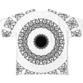かざぐるま 3 Full graphic T-shirts
