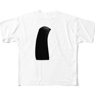 おにぎり Full graphic T-shirts
