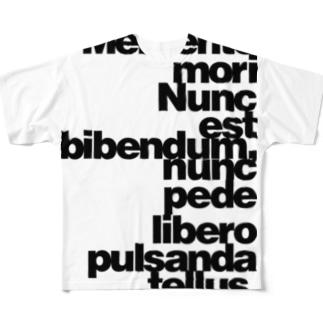 Memento mori Full graphic T-shirts