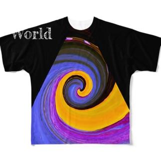 Pumpkin world Full graphic T-shirts