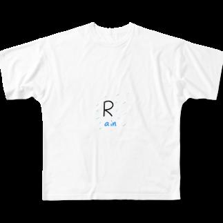 takakenの雨の日に着る服 Full graphic T-shirts