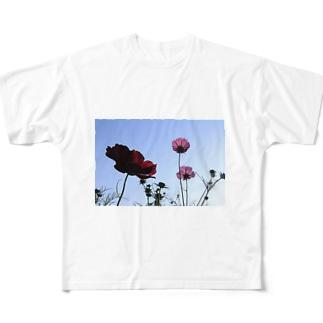 明日の空 Full graphic T-shirts