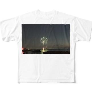 HANABI Full graphic T-shirts