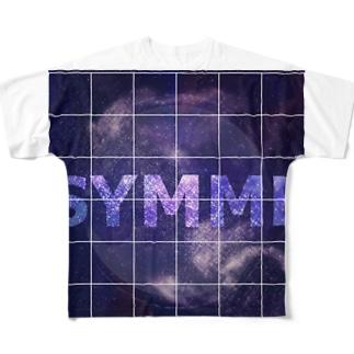 symmetry Full graphic T-shirts
