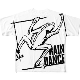 RAINY DANCER Full graphic T-shirts