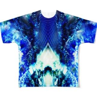 蒼の世界 Full graphic T-shirts