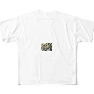 豹柄 Full graphic T-shirts