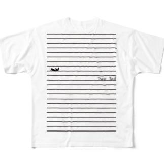 ノート  Full graphic T-shirts