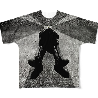 Lie on his back Full graphic T-shirts