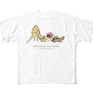 ノーノージャッカルくん Full graphic T-shirts
