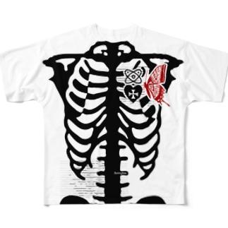 ヤドリギ Full graphic T-shirts