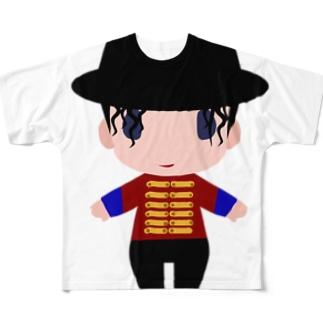 OUJI Full graphic T-shirts