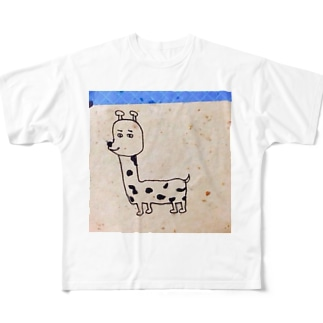 キリン Full graphic T-shirts