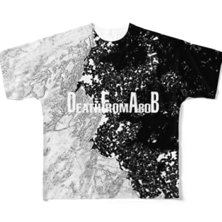 DEATH FROM A BOB Full graphic T-shirts
