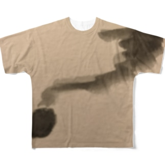 煙 Full graphic T-shirts