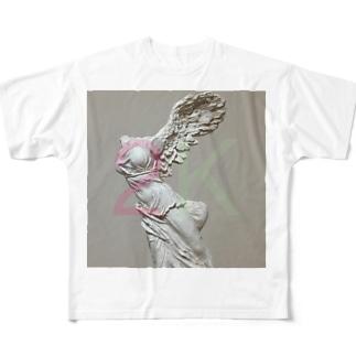 にけ Full graphic T-shirts