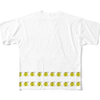 KABOCHA -Cute Pumpkin- うひょうひょかぼちゃ Full graphic T-shirts