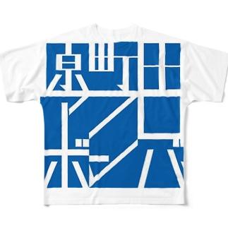 原町田アフロボンバー Full graphic T-shirts