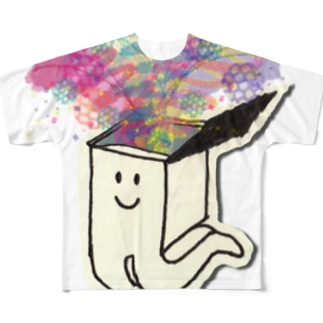 ぱっかーん Full graphic T-shirts