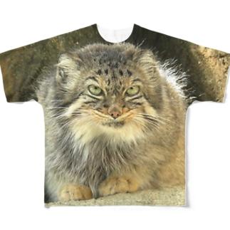 マヌルネコの Full graphic T-shirts