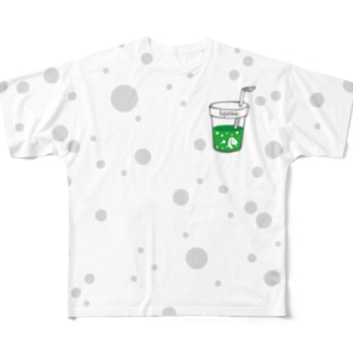 I.gasu soda 【アイガス】 Full graphic T-shirts