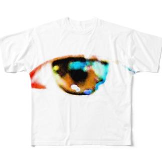 彩リ心ノ眼 Full graphic T-shirts