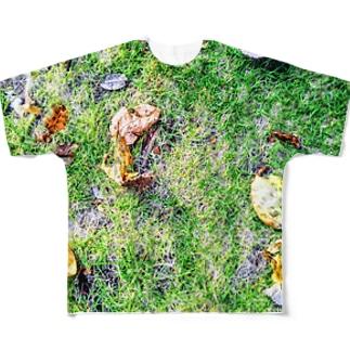 秋と夏の忘れ物 Full graphic T-shirts