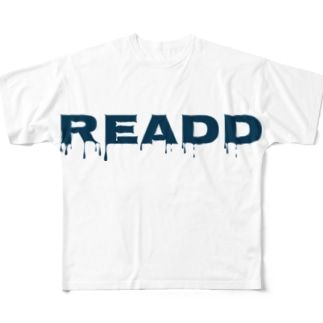 ReaDD Tシャツ ロゴ別ver Full graphic T-shirts