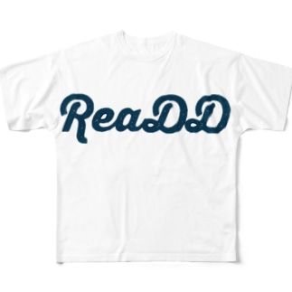 ReaDD Tシャツ ロゴ別ver2 Full graphic T-shirts