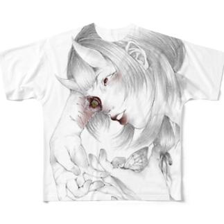 鬼 試作 Full graphic T-shirts