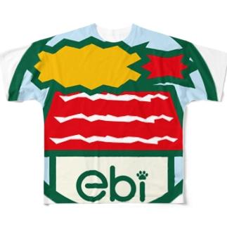 パ紋No.3114 ebi Full graphic T-shirts