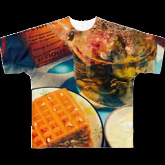 なるちゃんちのアジアン ティータイム Full graphic T-shirts