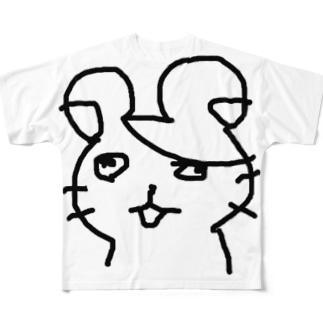 ハムタロサァン… Full graphic T-shirts