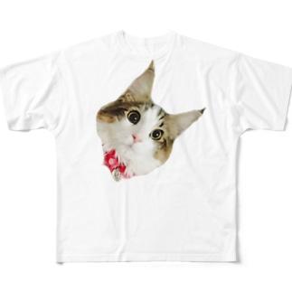 こはるちゃん Full graphic T-shirts
