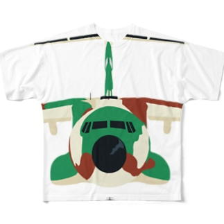 C-1輸送機 どアップ-A Full graphic T-shirts