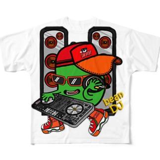Bean DJ Full graphic T-shirts