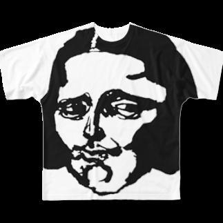 希鳳のボブリザ Full graphic T-shirts