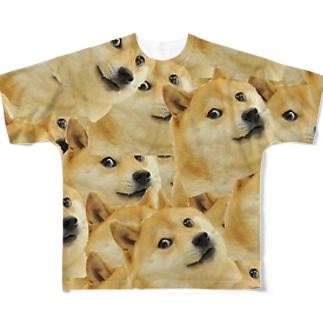 Doge Full graphic T-shirts
