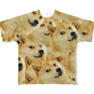Doge Full graphic T-shirts